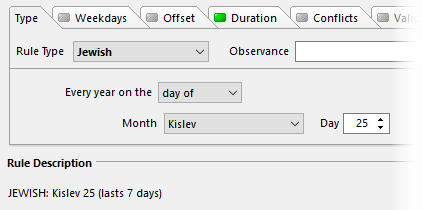Month Only Contains X Days In Jewish Year